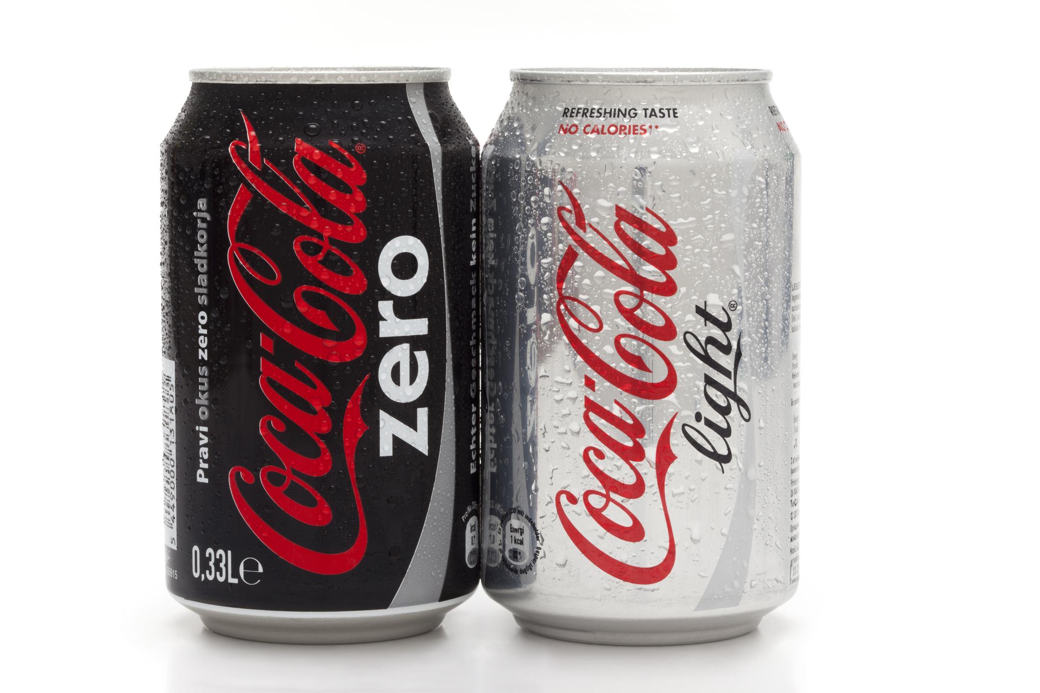aspartam light cola